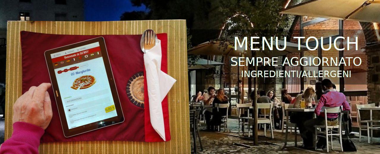 menu touch